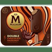 Ola Magnum double chocolate & hazelnut 6 stuks