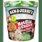Ben & Jerry's Netflix & chill non-dairy