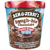 Ben & Jerry's Twist dough-ble choco cookie dough