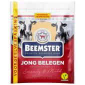 Beemster Kaas jong belegen 48+ plakken voordeelverpakking