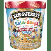 Ben & Jerry's Twist rain-dough cookie dough