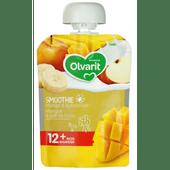 Olvarit Knijpzakje smoothie mango & kokosmelk