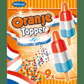 Oranje Topper ijsje
