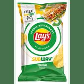 Lay's Restaurant flavors subway teriyaki