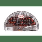 Julia Aluminium grillschalen halfrond