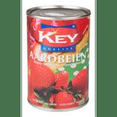 Key Aardbeien op siroop
