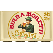 Birra Moretti Premium pilsener 24x30 cl