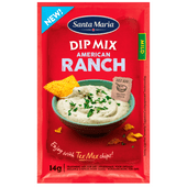 Santa Maria American ranch dip mix