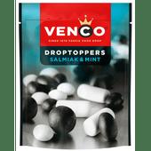 Venco Droptoppers salmiak-mint