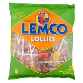 Lemco Fruit lollies 24 stuks