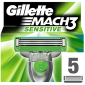Gillette Scheermesjes mach3 sensitive power