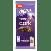 Milka Chocoladereep tender dark puur