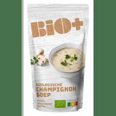 Bio+ Soep in zak champignon