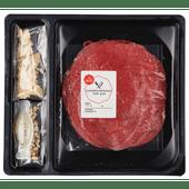 1 de Beste Carpaccio pijnboompitten kaas en olie