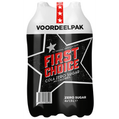 First Choice Cola Cola zero sugar