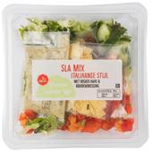 1 de Beste Groene salade italiaanse mix met regato kaas & kruidendress
