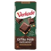 Verkade Chocoladereep extra puur hazelnoot