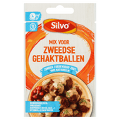 Silvo Kruidenmix zweedse gehakballetjes zonder zout