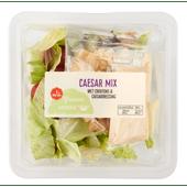 1 de Beste Groene salade caesar mix met crout-dressing