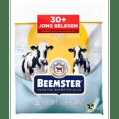 Beemster Jong belegen 30+ kaas gesneden