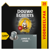 Douwe Egberts Koffiecups lungo extra intens 10
