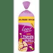 Leev Bio linzen wafels proteine glutenvrij