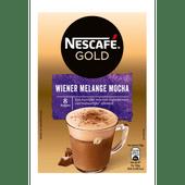 Nescafé Oploskoffie wiener melange 8 koppen