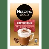 Nescafé Oploskoffie cappuccino 10 koppen