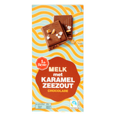 1 de Beste Chocoladereep melk karamel zeezout