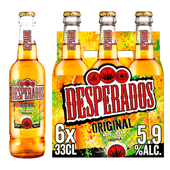 Desperados Tequila flavoured bier