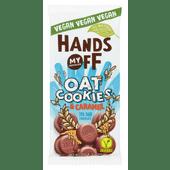 Hands Off My Chocolate Oat cookies & caramel 70% dark chocolate