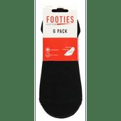 Dames- of heren footies 6-pack