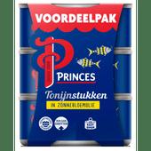 Princes Tonijnstukken in zonnebloemolie 3 stuks