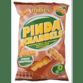 Millies Pindaknabbels