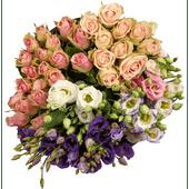 Luxe rozen of lisianthus