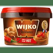 Wijko Satésaus hot kant & klaar