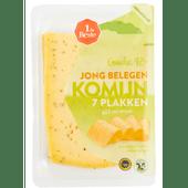 1 de Beste Komijn jong belegen kaas 48+