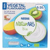 NaturNes BIO Toetje mango kiwi  6+