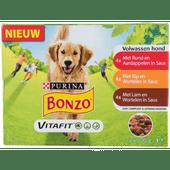Bonzo Adult lam-wortel in gelei 12 stuks