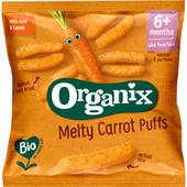 Organix Fingerfoods  7+ maanden corn puffs carrot