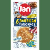 Jan American pancake naturel 6 stuks
