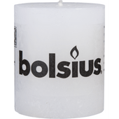 Bolsius Kaars rustiek wit 80 x 68 mm
