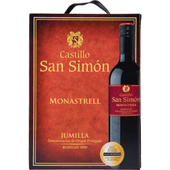 Castillo San Simón Monastrell bag in box