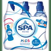 Spa Reine koolzuurvrij mineraalwater kids met sportdop