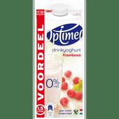 Optimel Drink voordeelverpakking framboos 0% vet