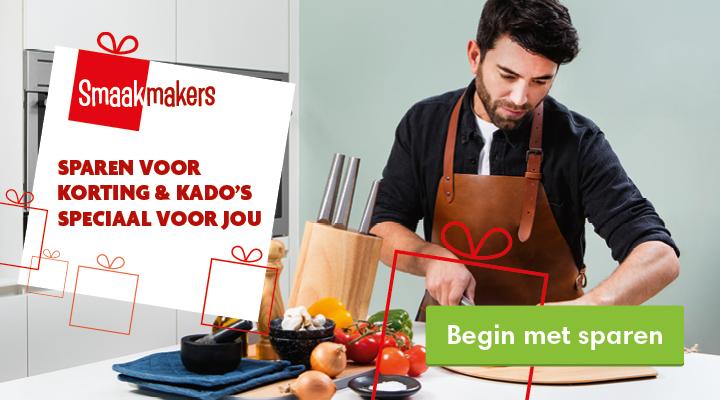 Begin met sparen voor DekaMarkt Smaakmakers
