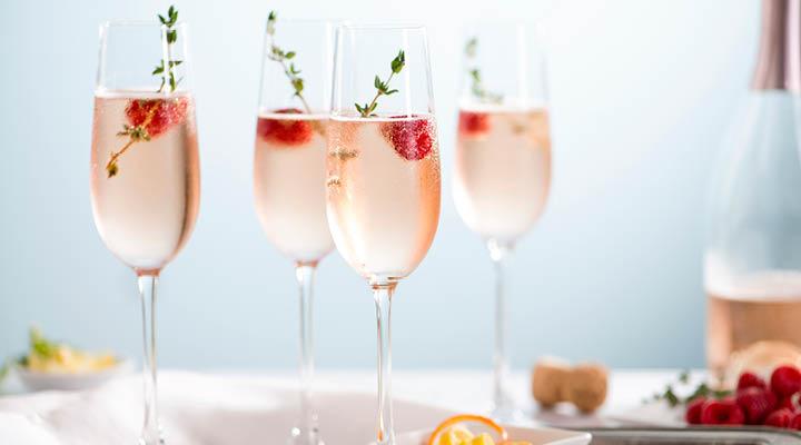 Rose bubbel