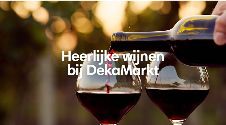 Heerlijke wijnen bij DekaMarkt