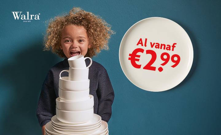 Al vanaf 2 euro en 99 cent