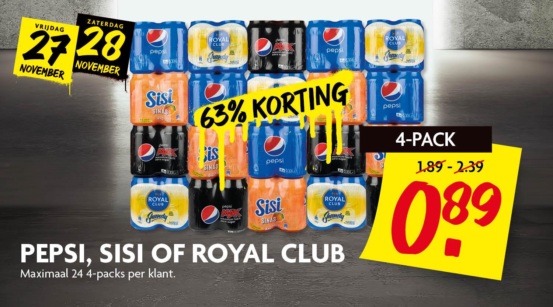 Pepsi, Sisi, Royal Club